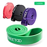 [Resistance Band] FREETOO Fitnessbänder professionelle Latex Widerstand Bänder Pull-Up Bänder