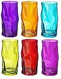 Sorgente - Trinkgläser - Farbig - 460 ml - Mehrfarbig - 6 Stück