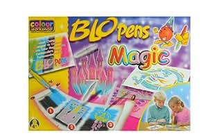 Colour workshop (AMEWI 300962) - Kit créatif Blopens magic, 10 + 1
