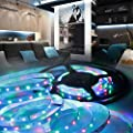 DOLDOA 50-200CM USB LED Strip Light TV Back Lamp 5050RGB Colour Changing+Remote Control with 17 Keys(Indoor&Outdoor) : everything five pounds (or less!)