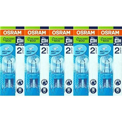 5 Stück Osram Halopin Energy Saver G9 klar 66733 ECO Halogenlampe 33W/230V von Osram bei Lampenhans.de