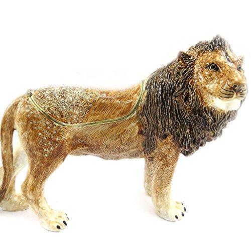 Les Trésors De Lily L6470 - Schmuckschatulle 'Lion' braun.