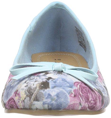 Jane Klain 221 910 Damen Geschlossene Ballerinas Blau (Blue Multi 899)