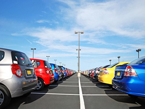 coches-big-parking-lot-4-parts-pster-fotomural-360-x-255cm