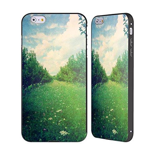 Offizielle Olivia Joy StClaire Obstgarten Natur Schwarz Rahmen Hülle mit Bumper aus Aluminium für Apple iPhone 6 Plus / 6s Plus
