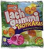 nimm2 Lachgummi TropicAras – Spaßiges Fruchtgummi mit Vitaminen – 15er Pack (15 x 225g)