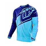 Troy Lee Designs Jersey GP Flexion Blau Gr. XL