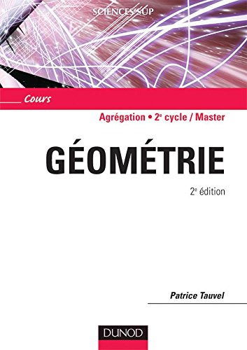 Gomtrie - 2me dition - Cours