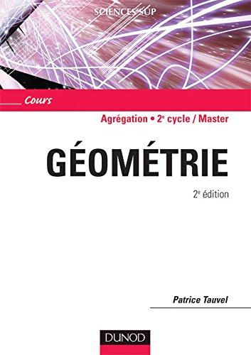 Géométrie - 2ème édition - Cours