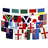 7m Rugby 2015 World Cup 25 International Flags of the World Bunting