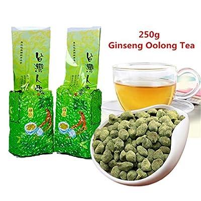 250g (0,55LB) thé au ginseng taiwanais Oolong Thé frais et efficaces au thé oolong Nouveau thé frais Anxi Oolong chinois thé Thé vert Aliments verts