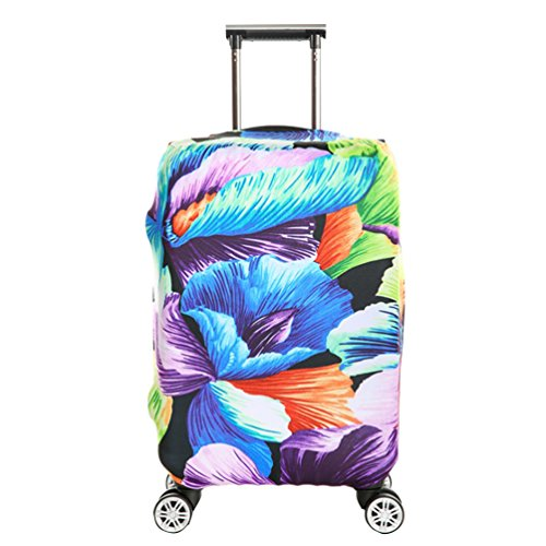 YiJee Elastic Gepäck Schutz-Koffer Drucken Abdeckung Für Beutel Wie Das Bild 3 XL