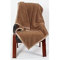 clg-fly coperta coperta spessa coperte divano ufficio aria condizionata singolo inverno NAP NAP coperta coperta coperta, Light coffee, 127x152cm