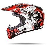 ATO GS Nevada Rot Größe S 55-56cm Motocrosshelm mit ausziehbarer