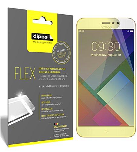 dipos I 3X Schutzfolie 100% passend für TP-Link Neffos C7 Folie (Vollständige Bildschirmabdeckung) Bildschirmschutzfolie