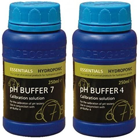 Essentials pH 4 & Buffer 7, 250 ml ciascuno