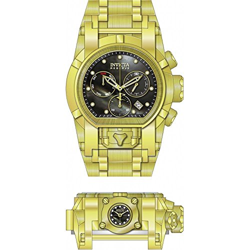Invicta Men's Reserve Gold-Tone Steel Bracelet & Case Swiss Quartz Watch 26706