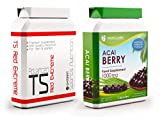 T5 Red Extreme 60 Capsules + Acai Berry 60 Capsules - Strong T5 Fat Burners Slimming Pills for Weight Loss, Appetite Suppressant, Boost Metabolism For Men and Women from Gymrat