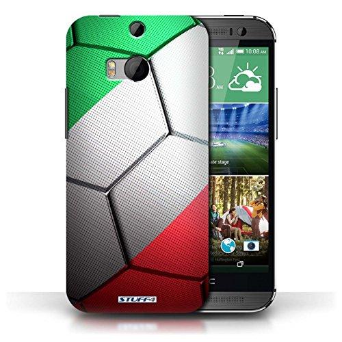 Kobalt® Imprimé Etui / Coque pour HTC One/1 M8 / Brésil/Brésilien conception / Série Nations de Football Italie/Italien