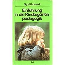 Sigurd Hebenstreit Einführung In Die Kindergartenpädagogik