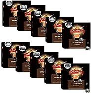 Saimaza Café Extra Fuerte Espresso 11 - 200 cápsulas de aluminio compatibles con máquinas Nespresso (R)* (10 P