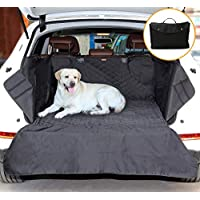 Dog Seat Cover, SUV Back Seat Cover Protector, Outlines Waterproof Scratchproof Nonslip Hammock, 900D Pet Cargo Back Seat Covers for Cars Trucks and SUVs, Large Size Universal Fit, with Storage bag
