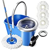 Best Spin Mops - Masthome 8L 360°Magic Hand Press Spin Mop Review