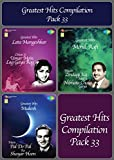 #6: Greatest Hits Compilation pack-33 ( Compilation Of Greatest Songs From Old Hindi Movies, Set Of 3 MP3s With 130 Tracks)