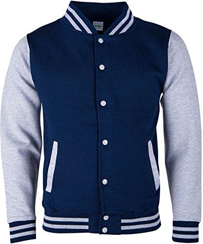 EZYshirt® Unisex Damen Herren & Kinder College Jacke -