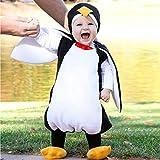 JiaMeng Neugeborenes Baby Jungen Mädchen Cosplay Cartoon Pinguin Strampler Schuhe Outfits