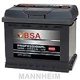 BSA Autobatterie 52Ah 12V 520A/EN ersetzt 44Ah 45Ah 50Ah Extreme Startkraft