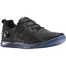 Reebok Nano Pump 2.0 - Zapatillas deportivas de CrossFit para hombre, negro/azul, 13,0 US - 47,0 UE