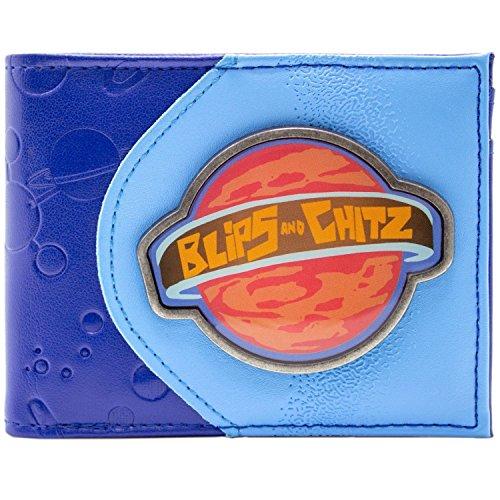 Cartera de Rick and Morty Blips and Chitz Mortynight Run Azul