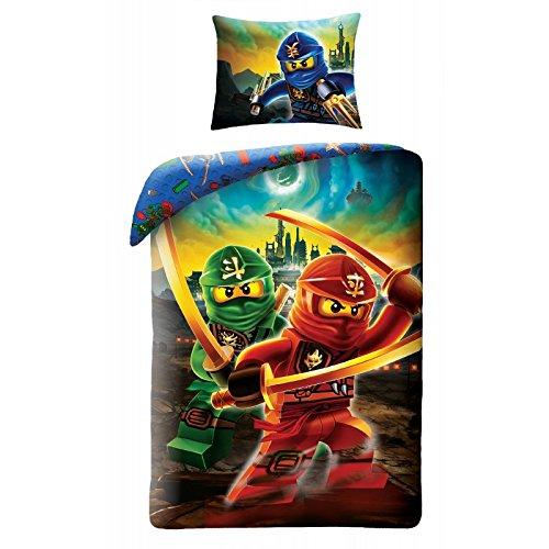 LEGO NINJAGO 613 Kinderbettwäsche Bettwäsche 140x200 cm + 70x90 cm