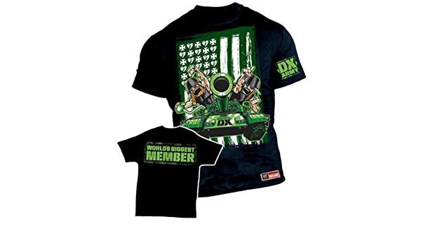 4ca6e593f WWE D-Generation DX Army T-Shirt SIZE SMALL  Amazon.co.uk  Kitchen   Home