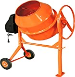 NEW PROGEN 140L 650W DRUM PORTABLE ELECTRIC CONCRETE CEMENT MIXER MORTAR PLASTER