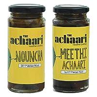 The Achaari Homemade Mango Pickles (Nouncha & Meethi Achaari)
