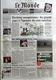 MONDE (LE) [No 18470] du 13/06/2004 - A LA UNE - COMMENT L'EQUIPE BUSH A DECIDE LA GUERRE EN IRAK - PORTFOLIO - NUS ET PAYSAGES DE BILL BRANDT - ARCHIVES - AVANT L'EURO 2004, LES GRANDES HEURES DU FOOT FRANCAIS - EDF - SARKOZY ENVISAGE DE DIFFERER L'OUVERTURE DU CAPITAL - ETATS-UNIS - LES FUNERAILLES DE RONALD REAGAN A WASHINGTON - JUSTICE - LA COUR DE CASSATION REJETTE LE POURVOI DE MAURICE PAPON - TELEPHONE - DEBITEL PROPOSE LE SMS A 9 CENTIMES - AUTOMOBILE - UN DIESEL MUSCLE