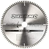 Silverline 244964 TCT CHAPA Hoja 80t 250 x 30-25 , 20 , 16mm Anillos