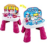 Webby 2-in-1 Doctor and Kitchen Set, Multi Color