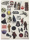 Star Wars Haut Tattoos, 1 Bogen mit 28 Motiven
