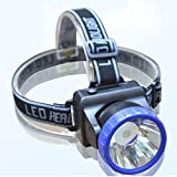 #9: FSI 20 watts LIGHT WEIGHT [ 87 grams only] Powerful Ultra Bright Head Torch flashlight Rechargeable Lamp Home Industrial Work 500 meters beam very comfortable Hands free Light you can buy - Buy 4 nos at a time and get 1 no free ie buy 4 nos and we will ship 5 nos