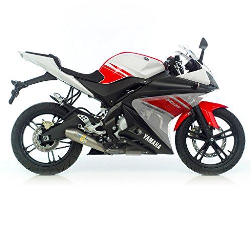 Auspuff LeoVince GP-Style Komplettanlage 1-1 Edelstahl Yamaha YZF-R 125 RE061