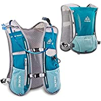 AONIJIE Hydration Pack Backpack 5L Marathoner Running Race Hydration Vest Running Hiking Backpack with Hydration Pack