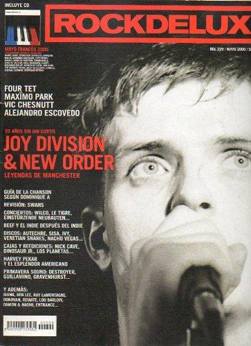 ROCK DE LUX. Nº 229. Joy Division & New Order. Guía de la Chanson según Dominique A. Harvey Pekar y el esplendor americano. Vic Chesnut... No conserva CD.