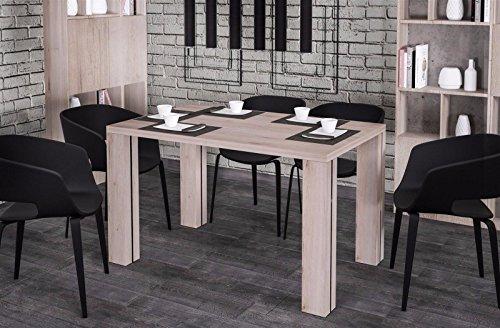 Endo Esstisch Endo Nisa 220 ausziehbar erweiterbar Küchentisch Esszimmertisch Tisch // San Remo Eiche hell -