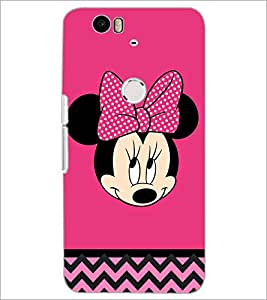 PrintDhaba Minnie Mouse D-2324 Back Case Cover for HUAWEI NEXUS 6P (Multi-Coloured)