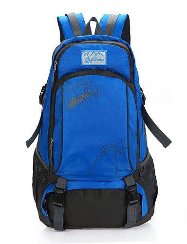 HWB/ 40 L Tourenrucksäcke/Rucksack / Travel Organizer Camping & Wandern Draußen Wasserdicht / Schnell abtrocknend / tragbar / Atmungsaktiv Green
