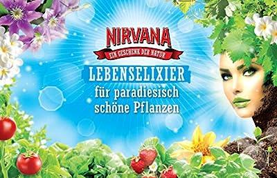 Nirvana Lebenselixier, Nährstoffreiche Premium Pflanzennahrung aus 100% natürlichen Inhaltsstoffen, 1 L Flüssigdünger von SCOTTS CELAFLOR GMBH bei Du und dein Garten