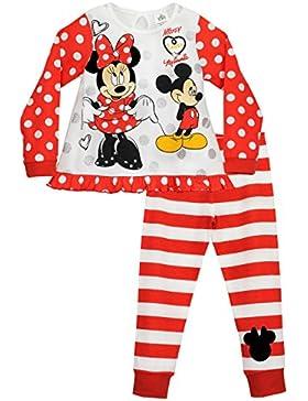 Disney Minnie Mouse - Pigiama a maniche lunghe per ragazze - Topolina
